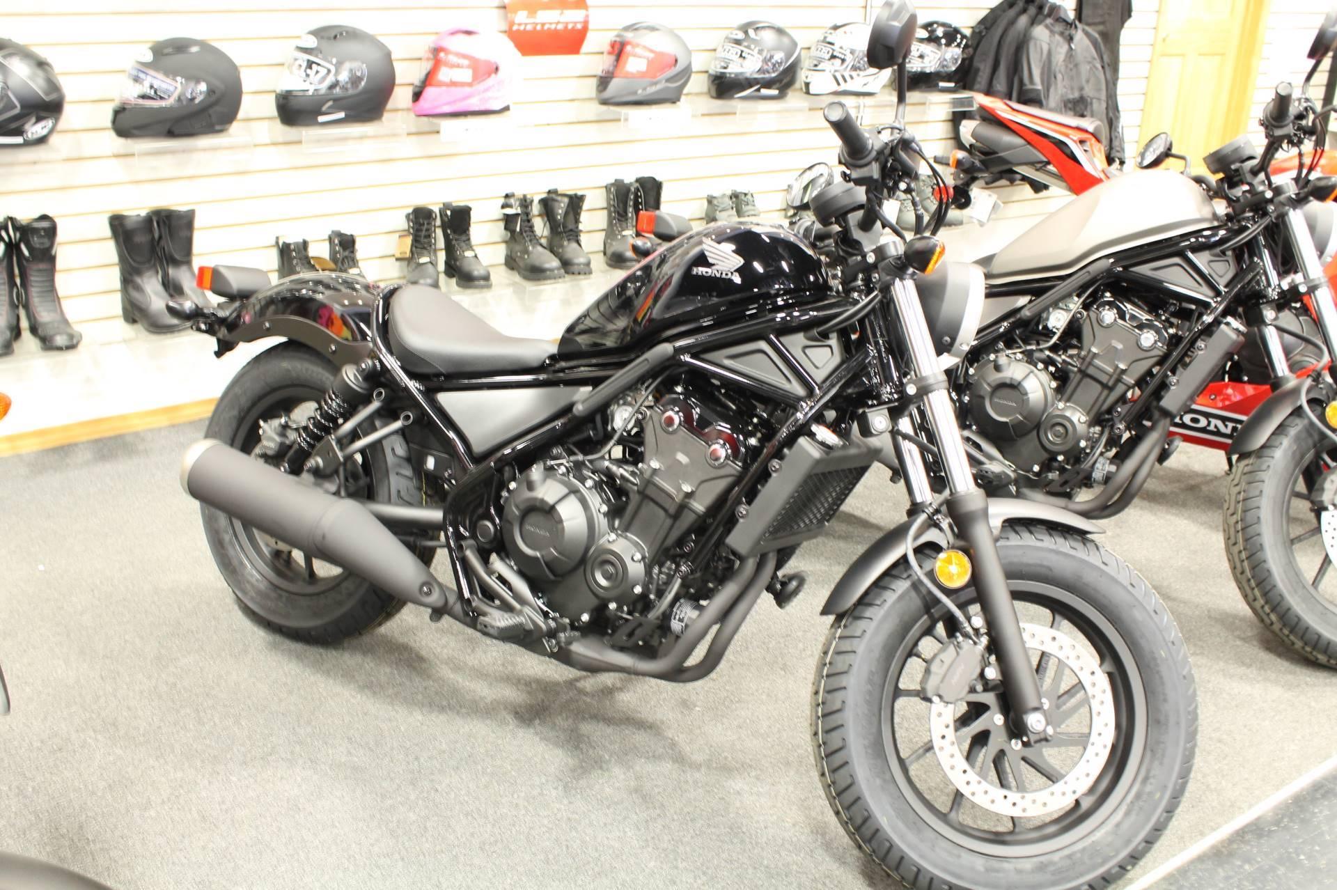 New 2018 Honda Rebel 500 Motorcycles In Adams Ma Stock Number 101764