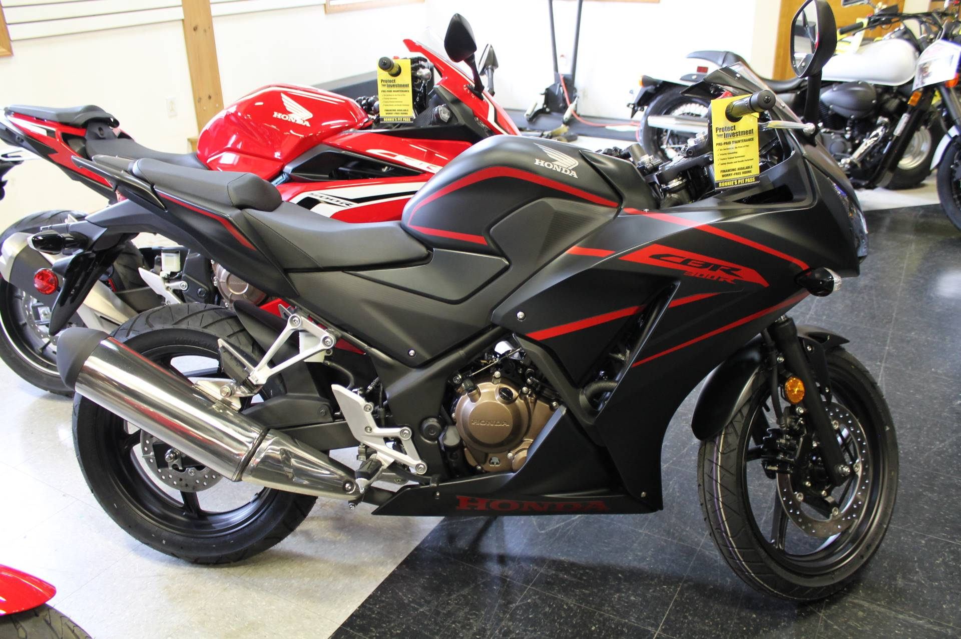 2019 Honda CBR300R in Adams, Massachusetts
