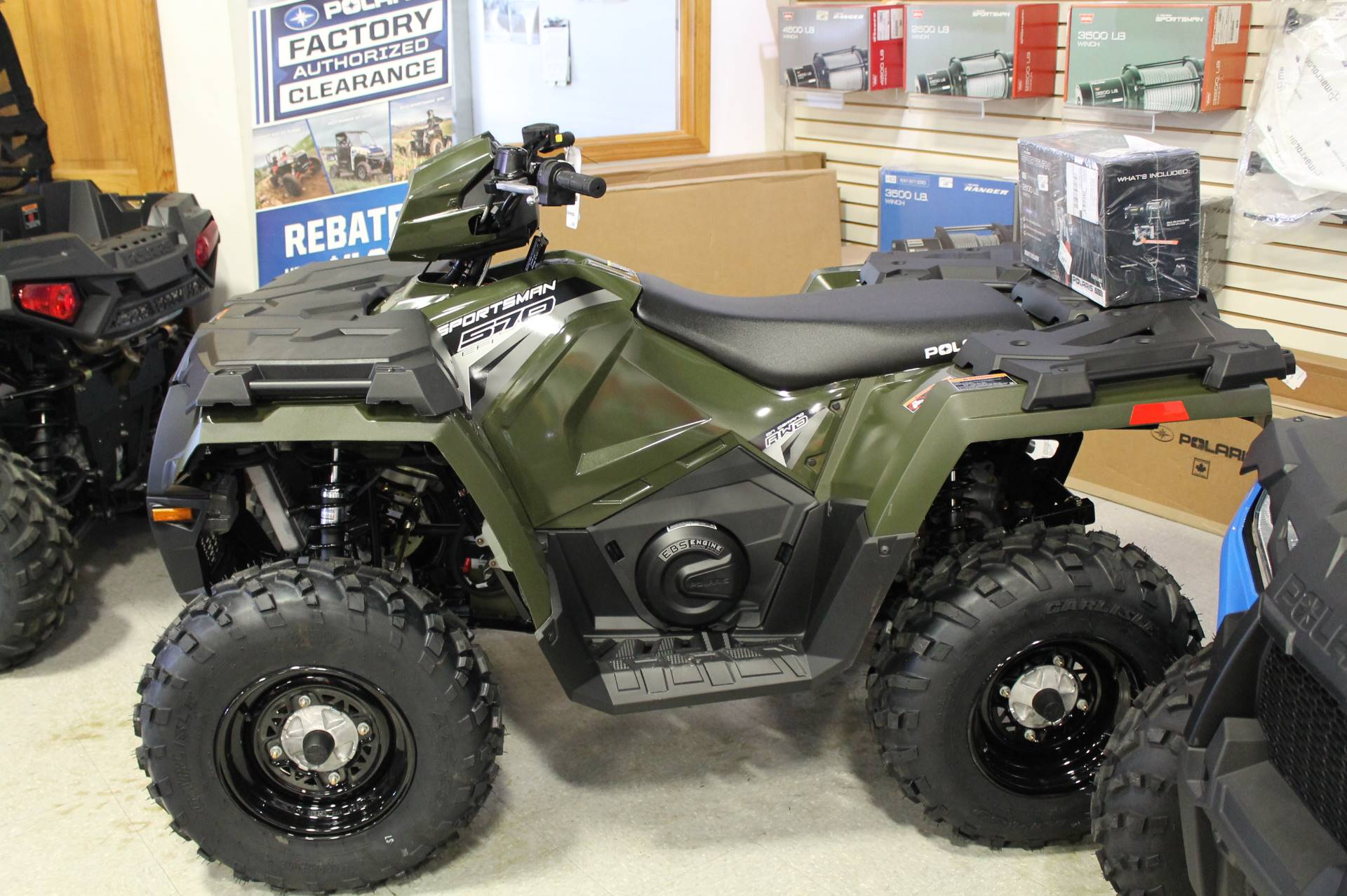New 2018 Polaris Sportsman 570 EPS ATVs in Adams, MA | Stock Number ...