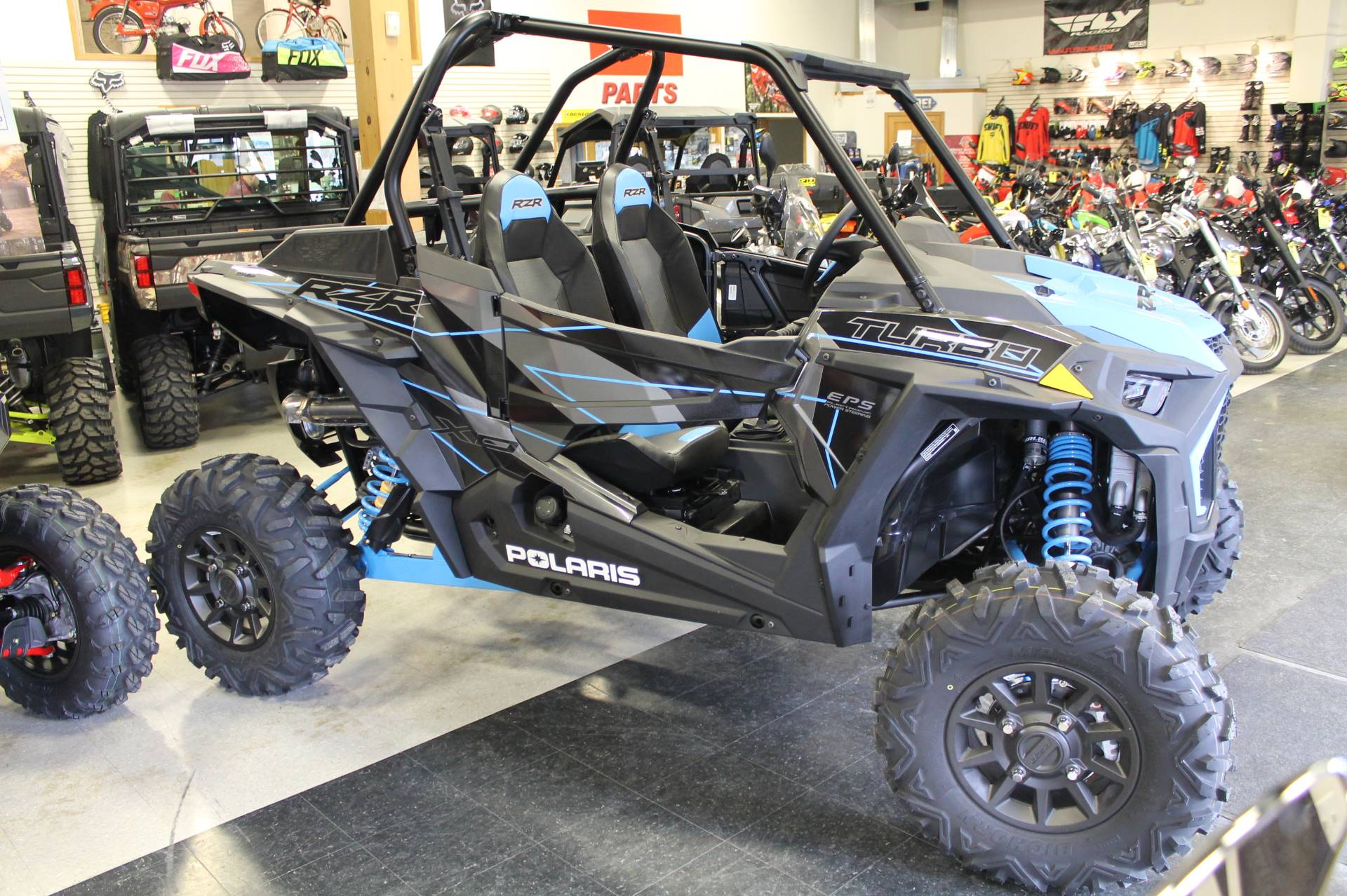 New 2019 Polaris RZR XP Turbo Utility Vehicles in Adams, MA | Stock