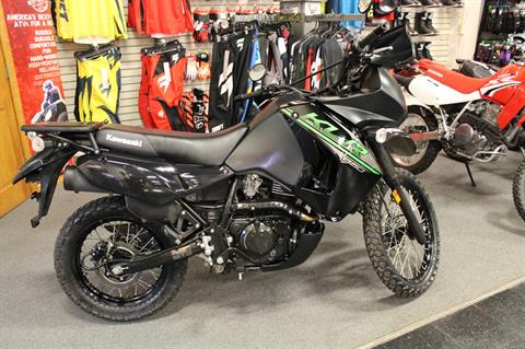 2017 Kawasaki KLR650 in Adams, Massachusetts