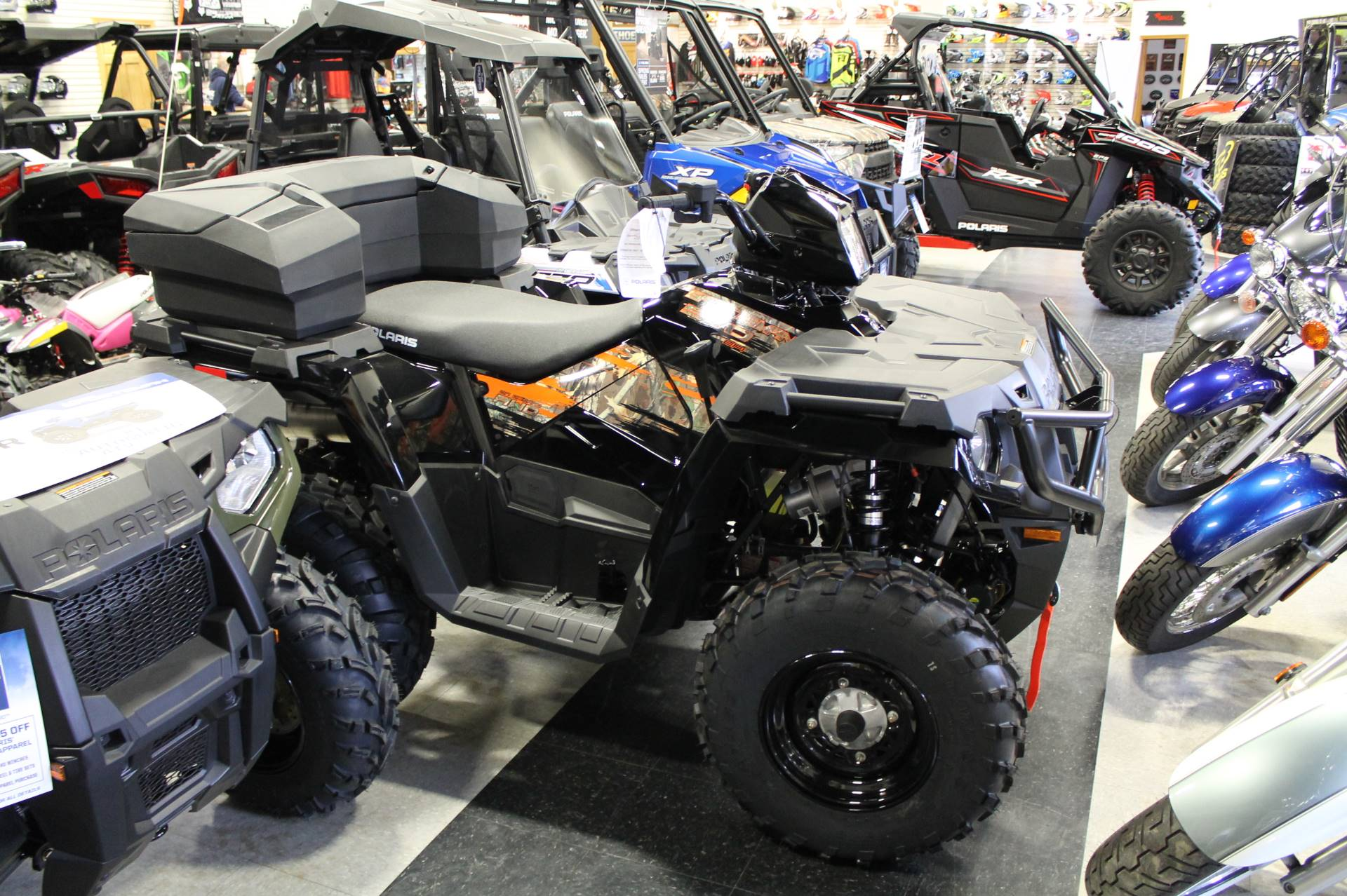 2018 Polaris Sportsman 570 EPS LE in Adams, Massachusetts