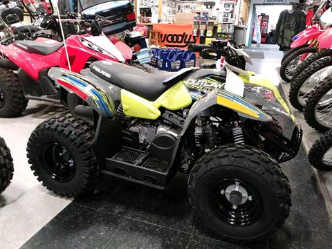 2018 Polaris Outlaw 50 in Adams, Massachusetts