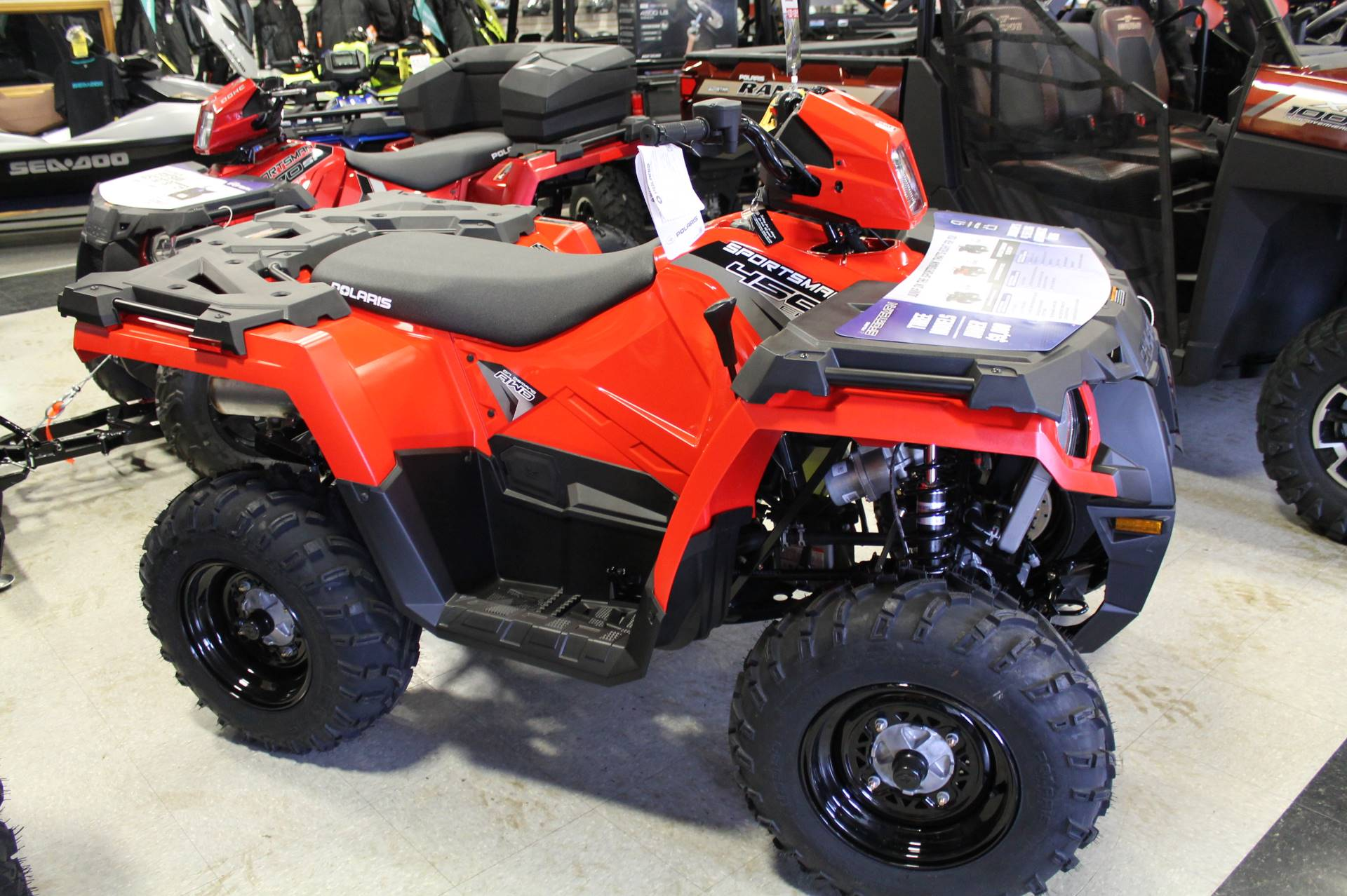 2019 Polaris Sportsman 450 H.O. in Adams, Massachusetts