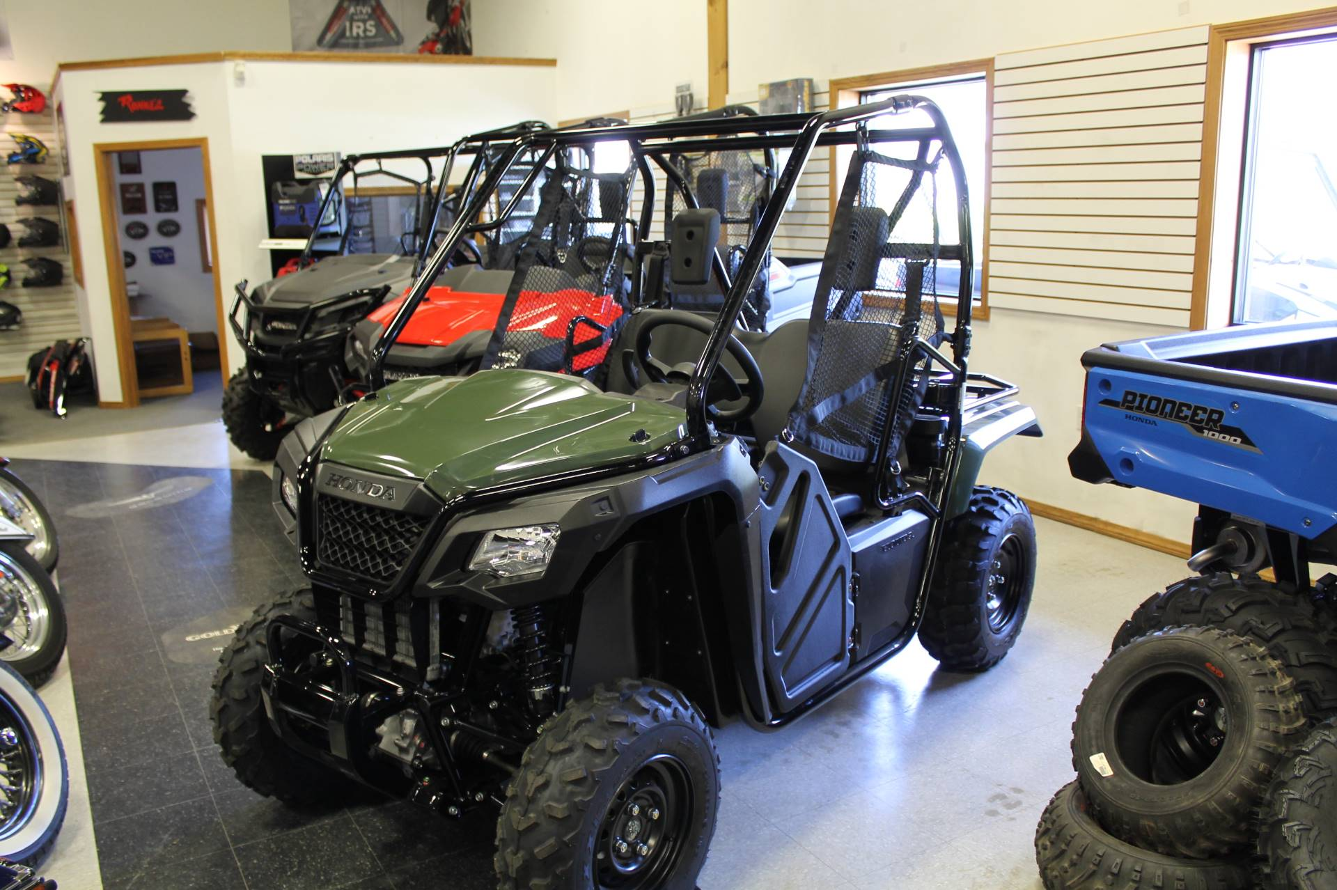 2018 Honda Pioneer 500 in Adams, Massachusetts