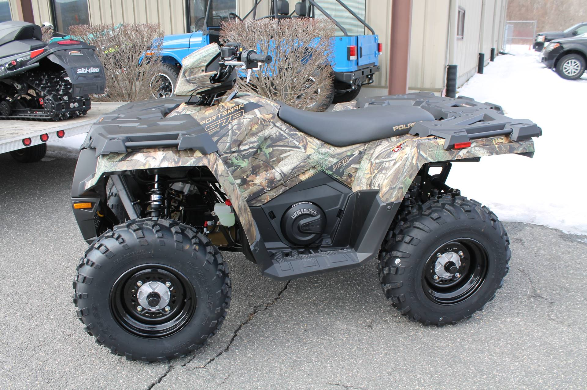 2019 Polaris Sportsman 570 EPS Camo in Adams, Massachusetts
