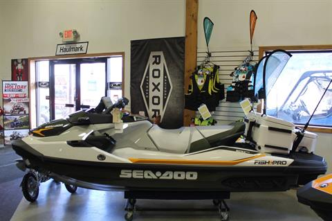 2019 Sea-Doo Fish Pro iBR + Sound System in Adams, Massachusetts - Photo 1