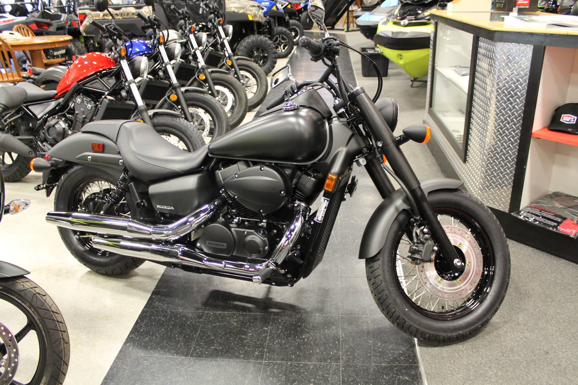 2018 Honda Shadow Phantom in Adams, Massachusetts
