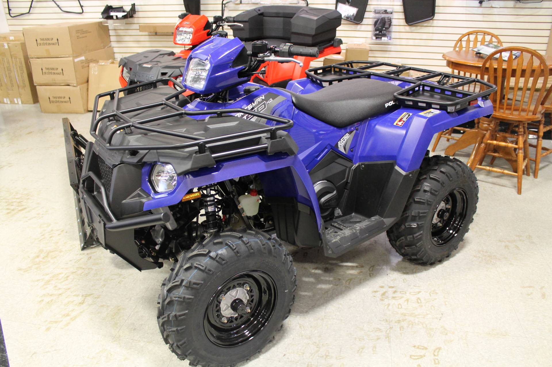 2020 Polaris Sportsman 450 H.O. Utility Package in Adams, Massachusetts