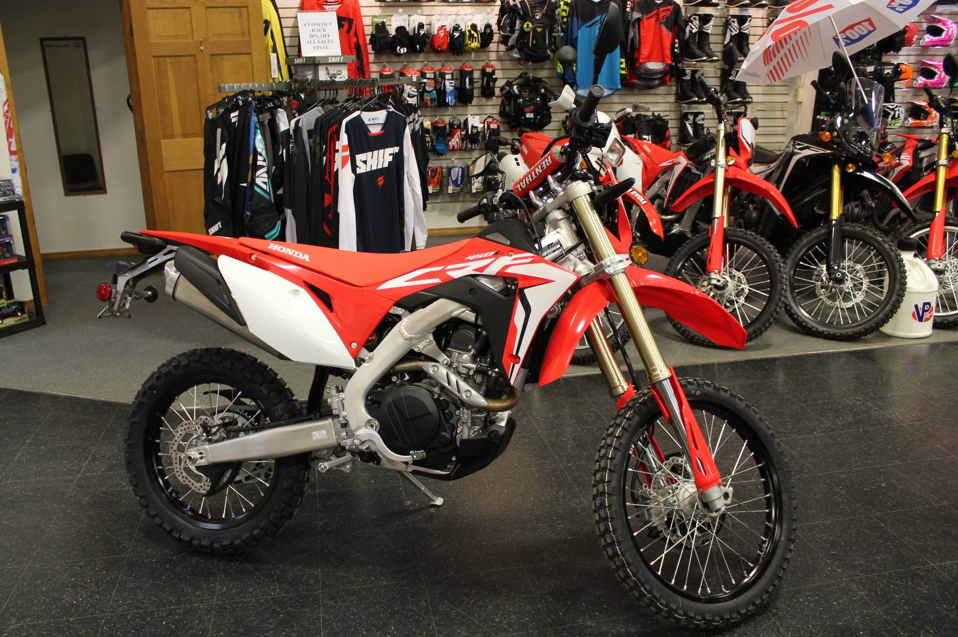 2019 Honda CRF450L in Adams, Massachusetts