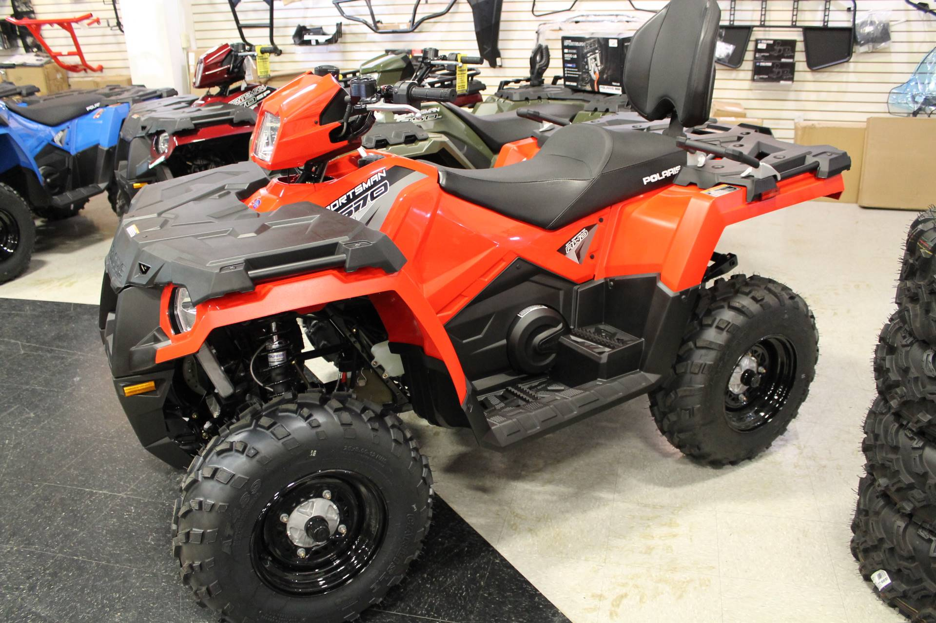 2019 Polaris Sportsman Touring 570 in Adams, Massachusetts - Photo 1