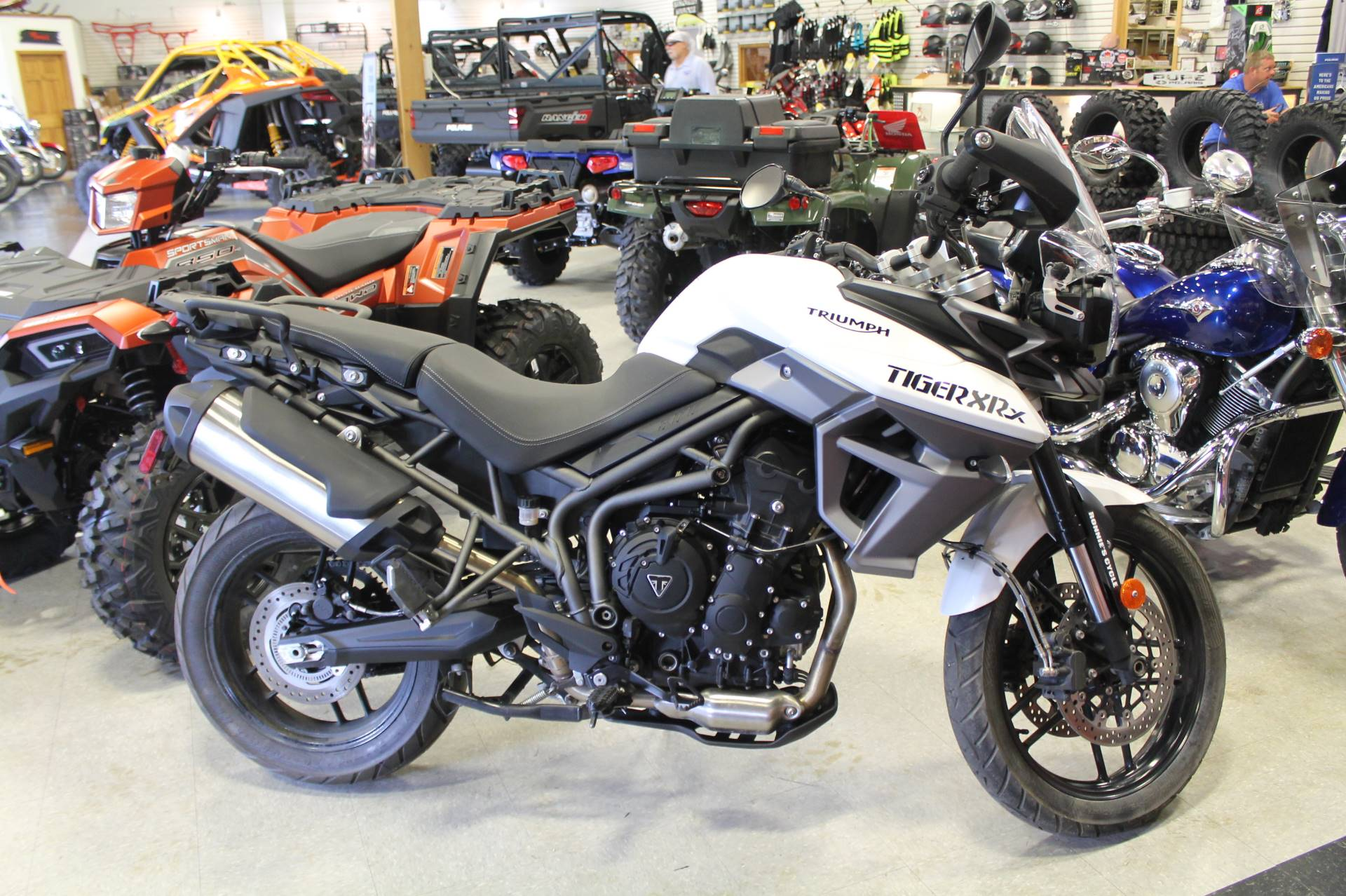 2017 Triumph Tiger 800 XRX in Adams, Massachusetts
