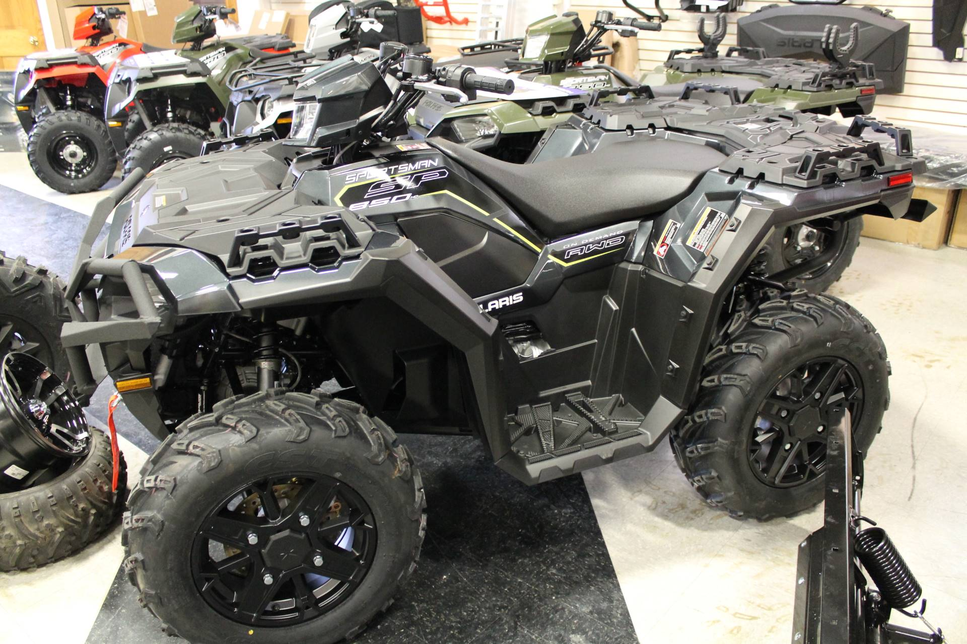 2019 Polaris Sportsman 850 SP Premium in Adams, Massachusetts