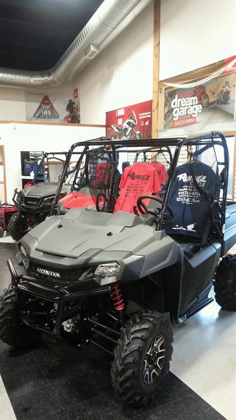 2018 Honda Pioneer 700 Deluxe in Adams, Massachusetts
