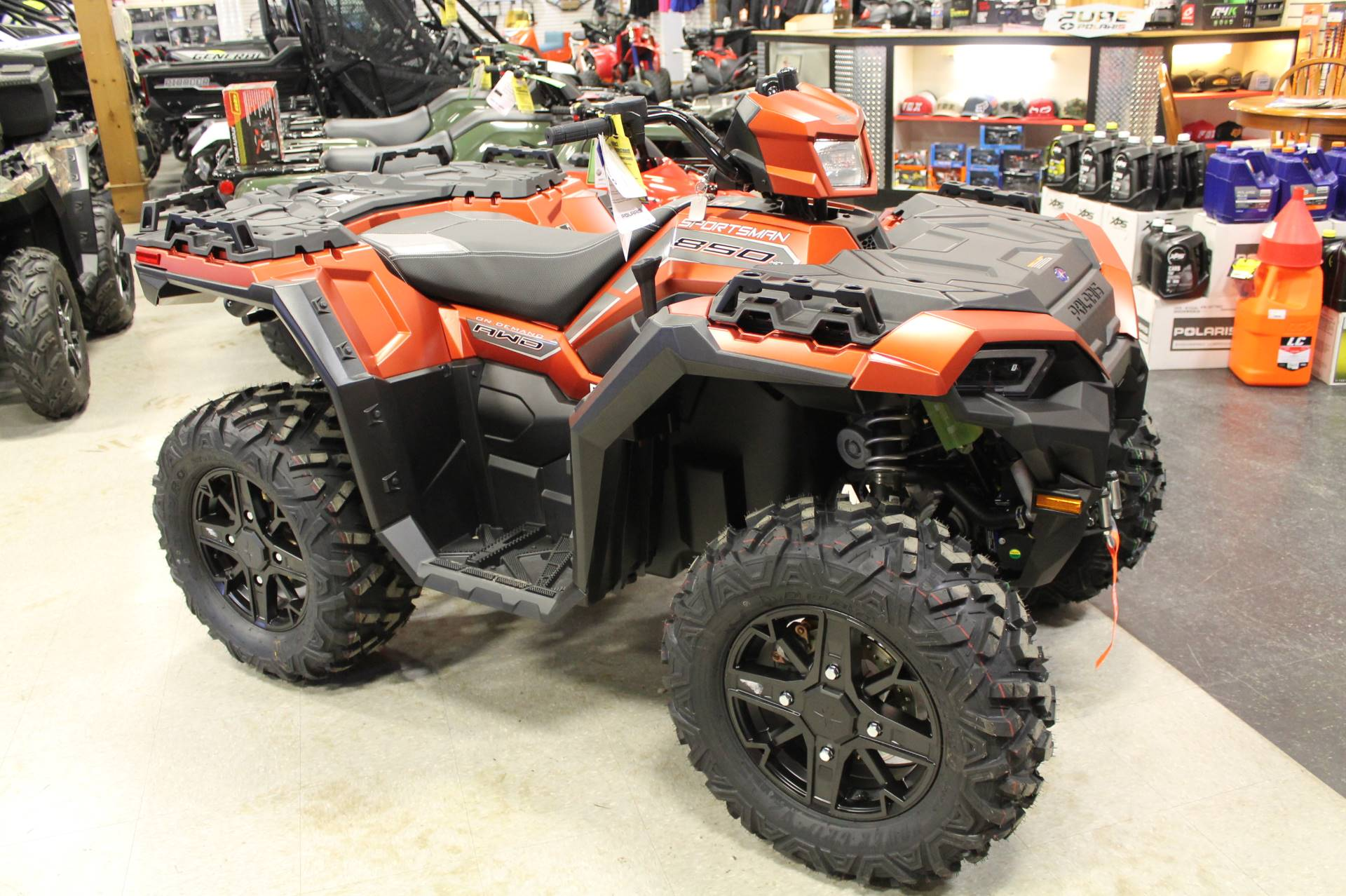 2020 Polaris Sportsman 850 Premium Trail Package in Adams, Massachusetts
