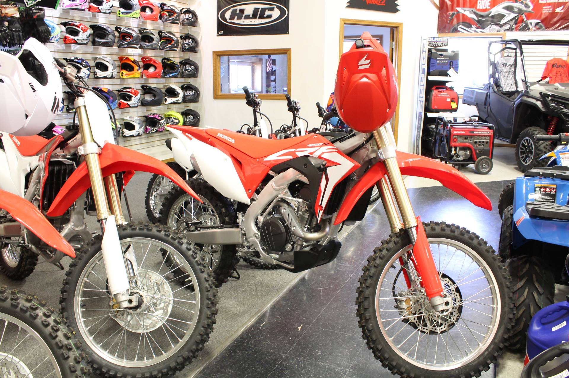 2017 Honda CRF450R in Adams, Massachusetts