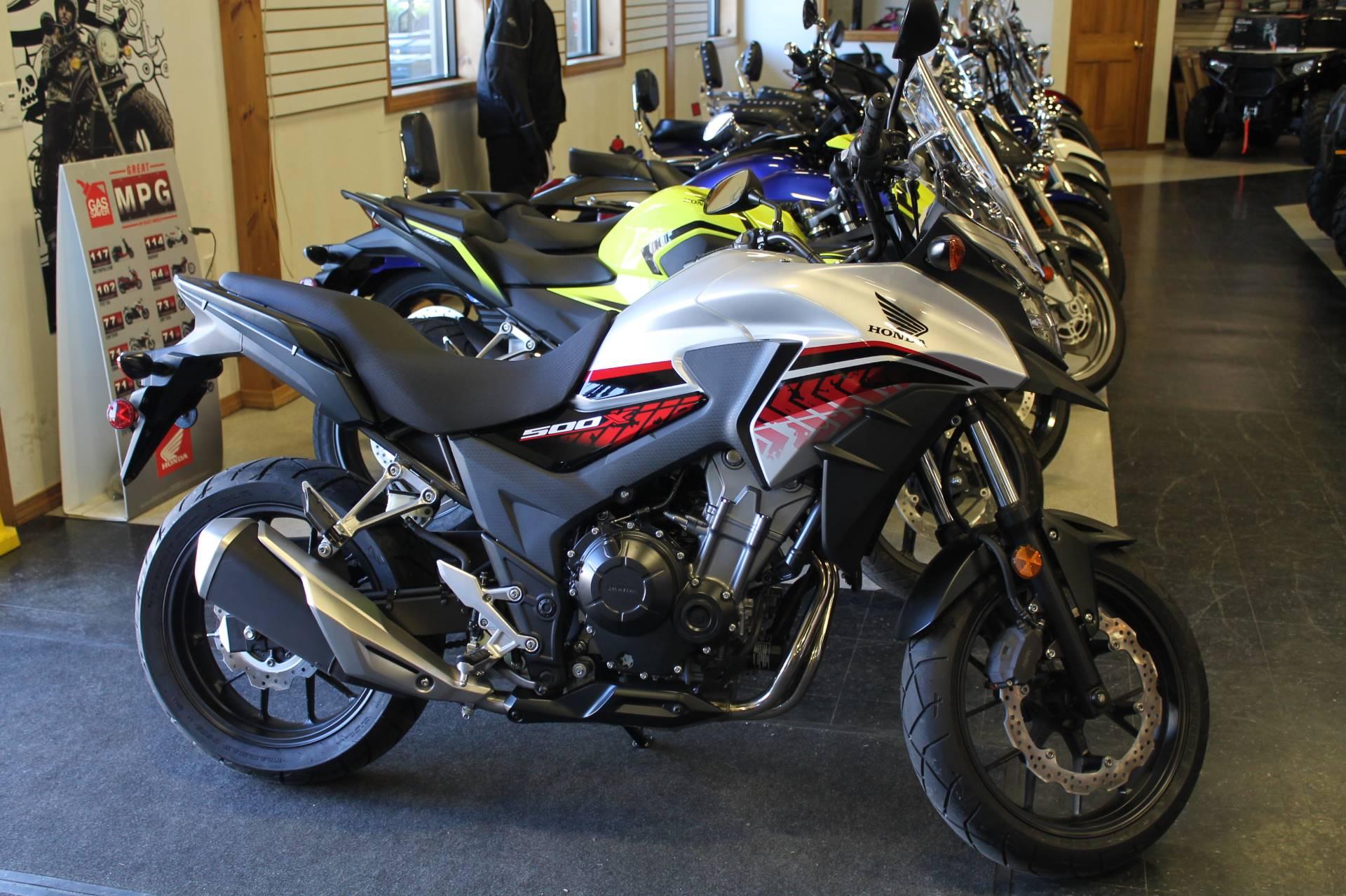 new 2018 honda cb500x motorcycles in adams ma stock. Black Bedroom Furniture Sets. Home Design Ideas
