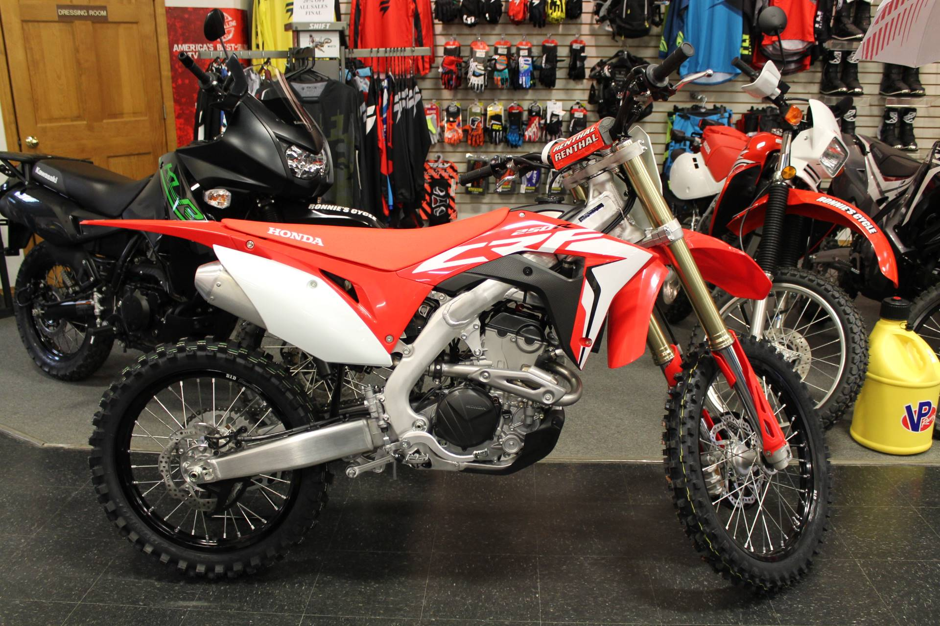 New 2019 Honda Crf250r Motorcycles In Adams Ma Stock Number 100614