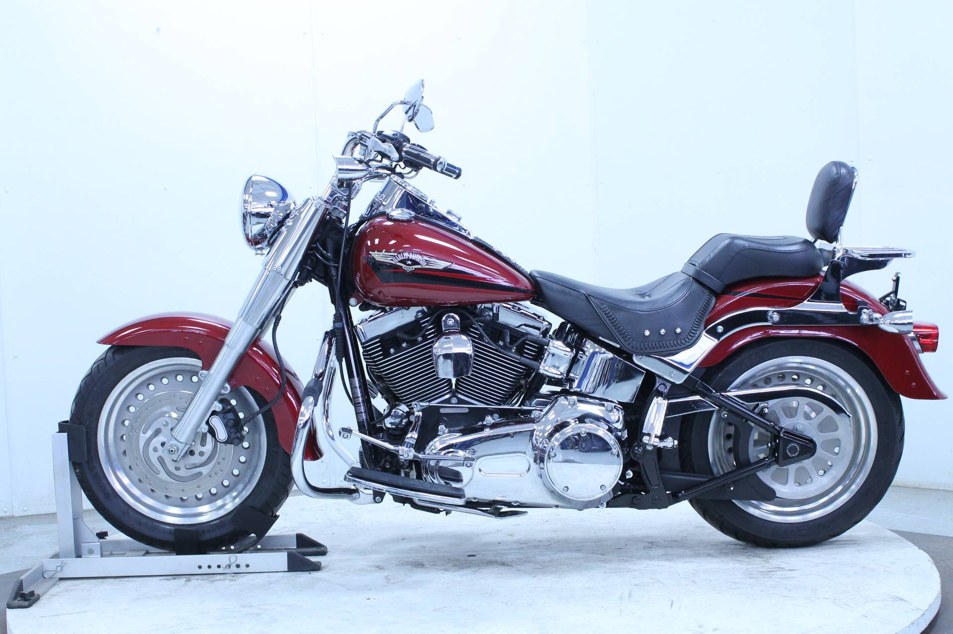 2007 Harley-Davidson FLSTF Softail® Fat Boy® in Adams, Massachusetts