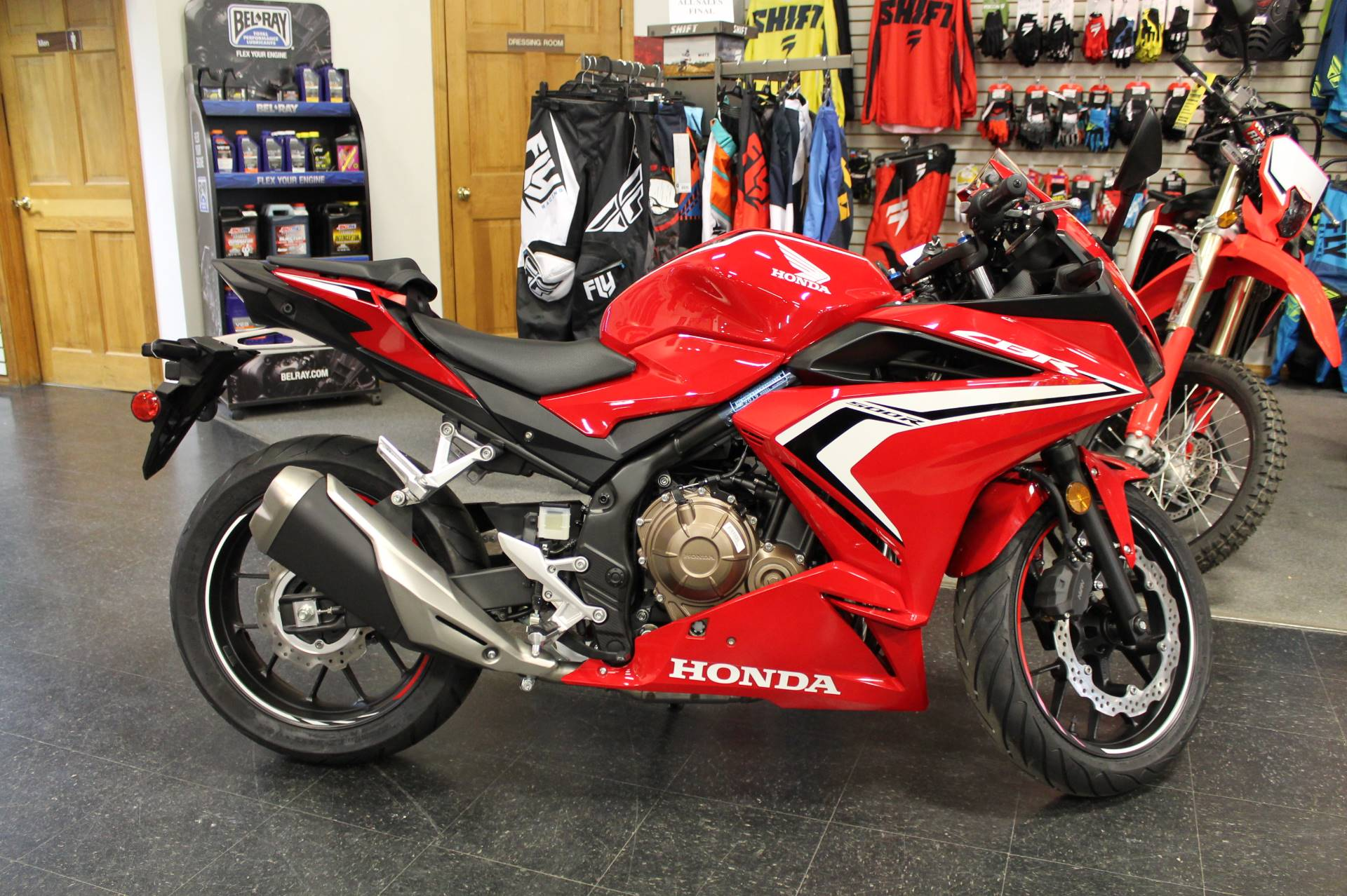 2019 Honda CBR500R in Adams, Massachusetts