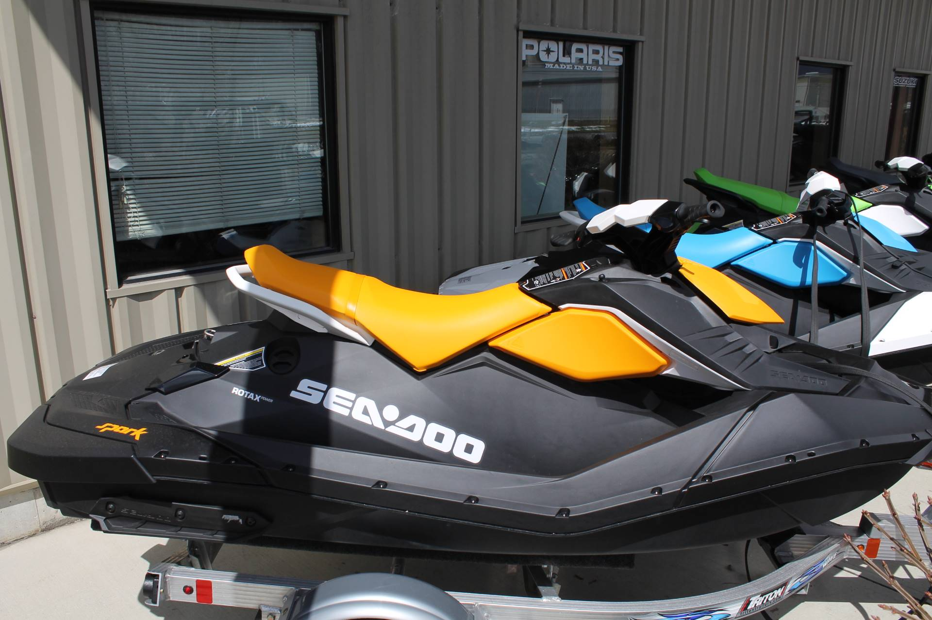 New 2018 Sea-Doo SPARK 2up 900 H O  ACE iBR & Convenience Package
