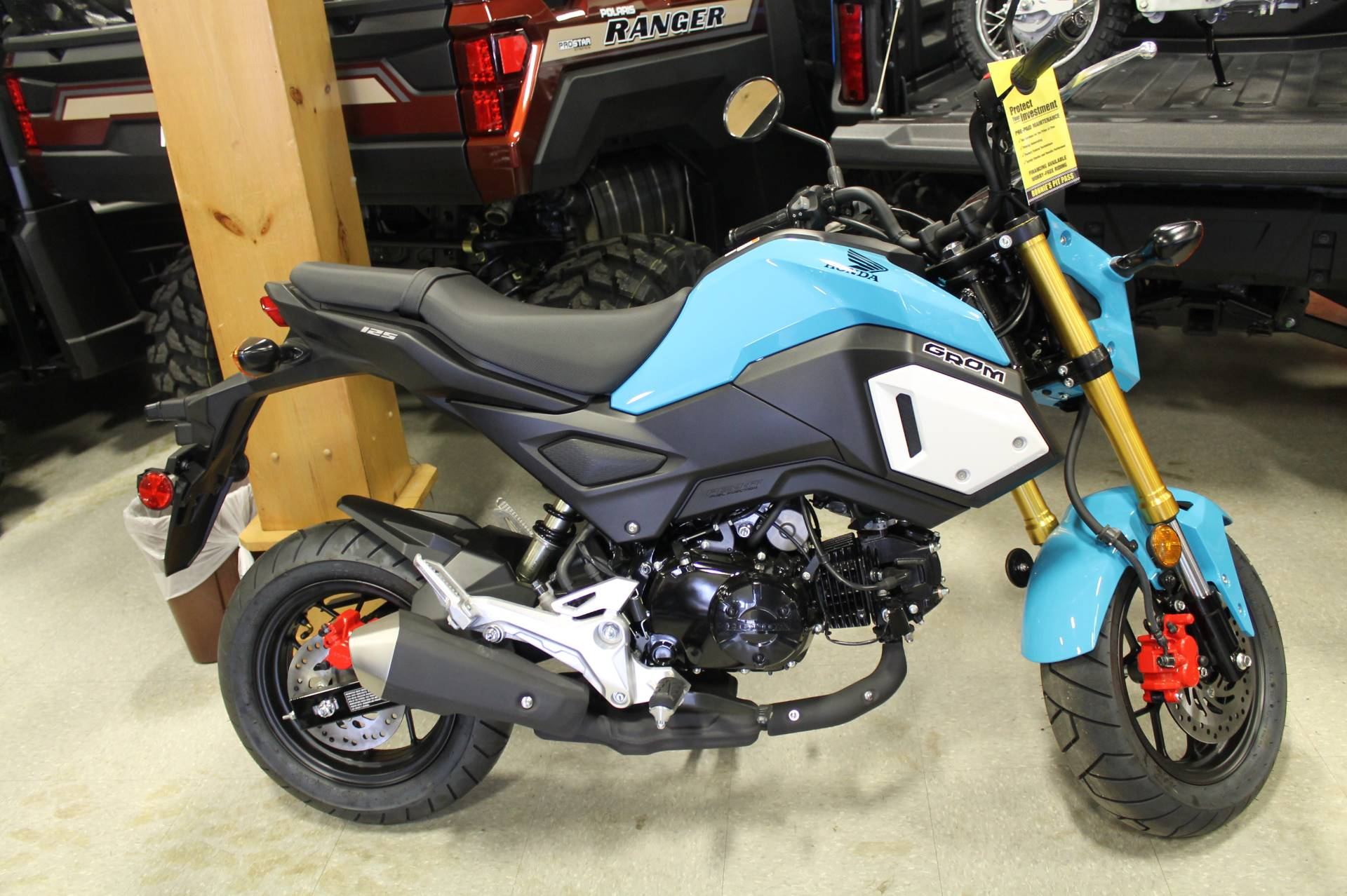 2019 Honda Grom in Adams, Massachusetts