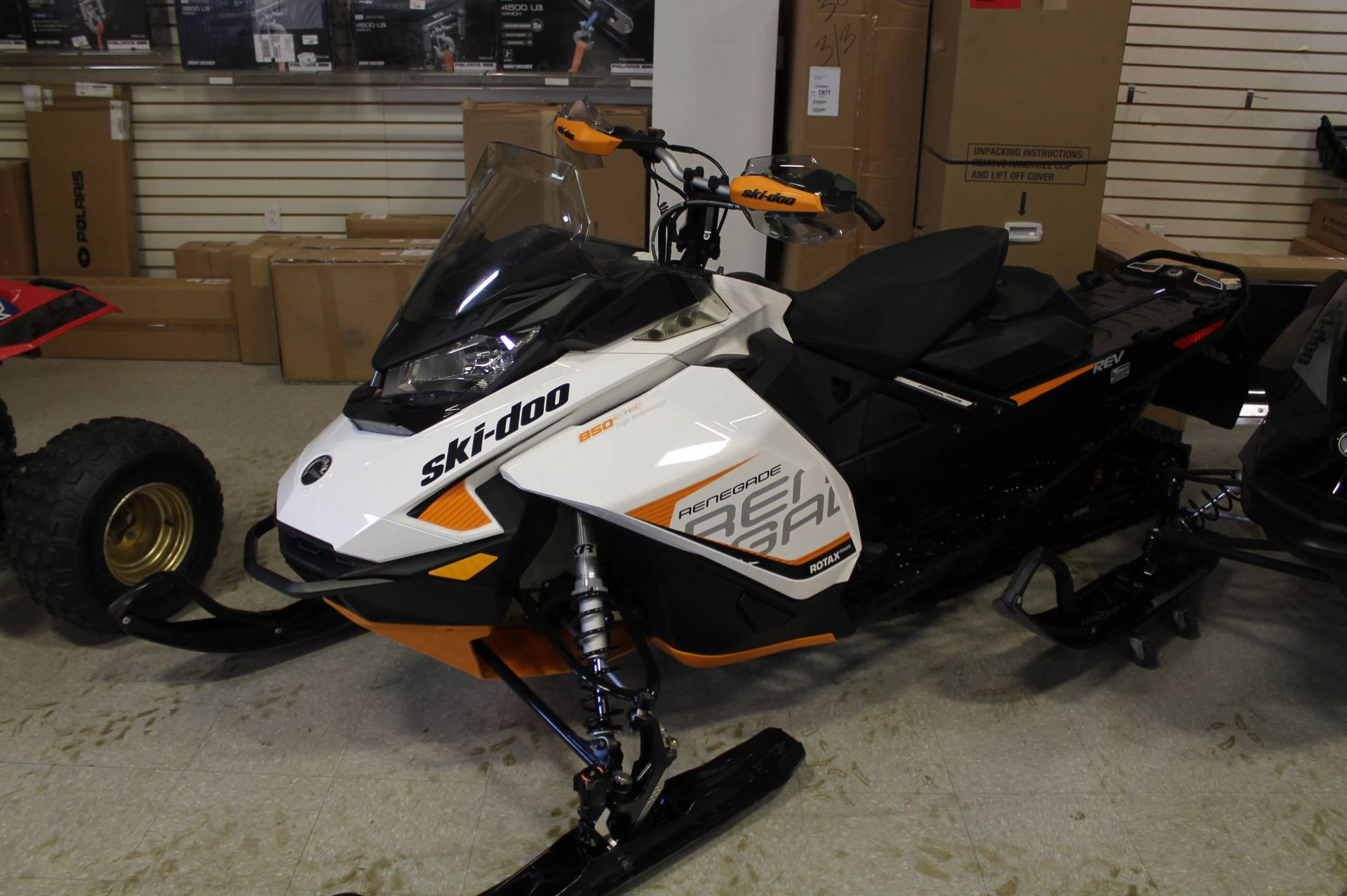 2017 Ski-Doo Renegade Adrenaline 850 E-TEC E.S. in Adams, Massachusetts