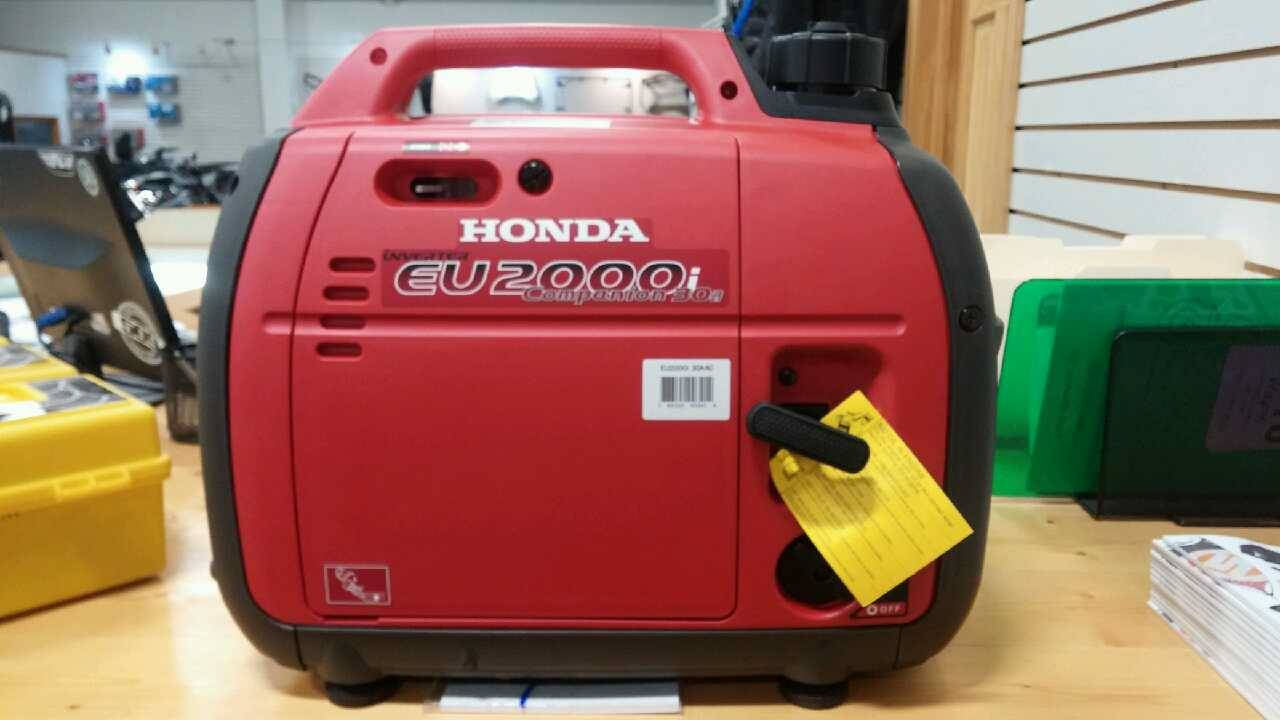 2017 Honda Power Equipment EU2000 COMPANION in Adams, Massachusetts