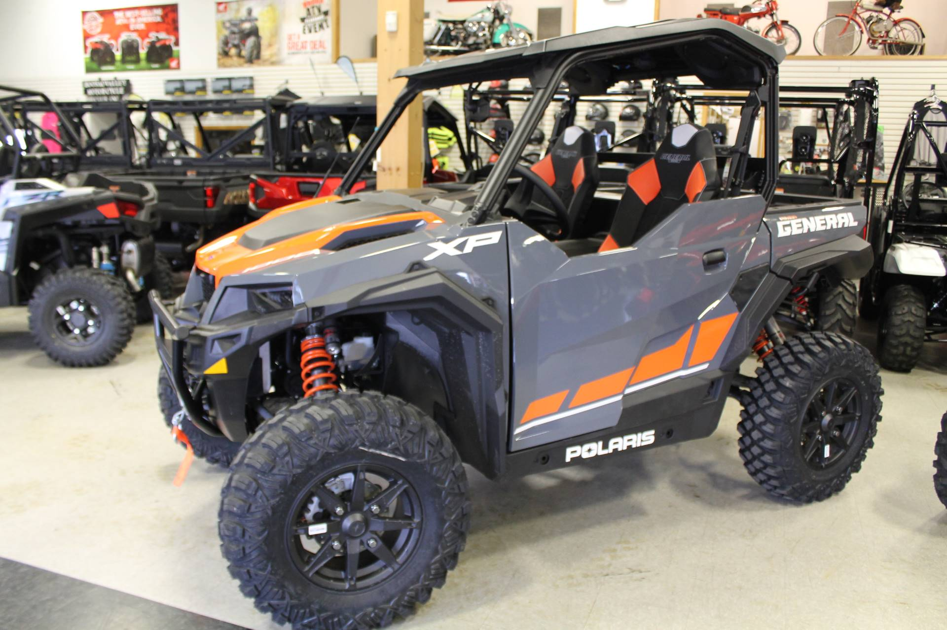 2020 Polaris General XP 1000 Deluxe Ride Command Package in Adams, Massachusetts - Photo 1