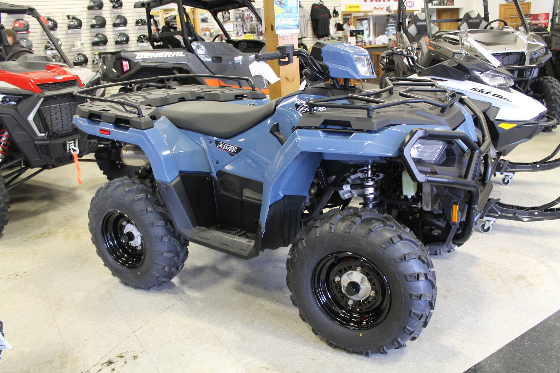 2021 Polaris Sportsman 450 H.O. EPS in Adams, Massachusetts