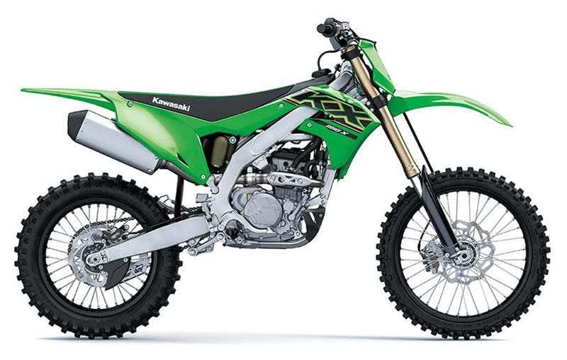 2021 Kawasaki KX250X in Amarillo, Texas