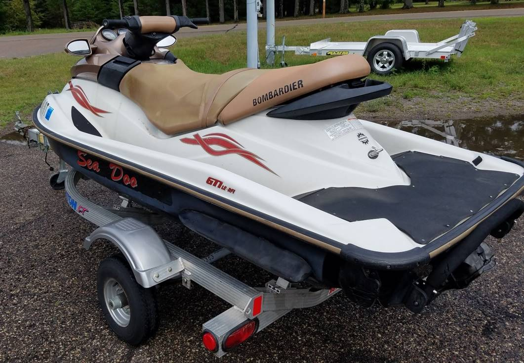 2004 Sea-Doo GTI LE RFI in Wisconsin Rapids, Wisconsin