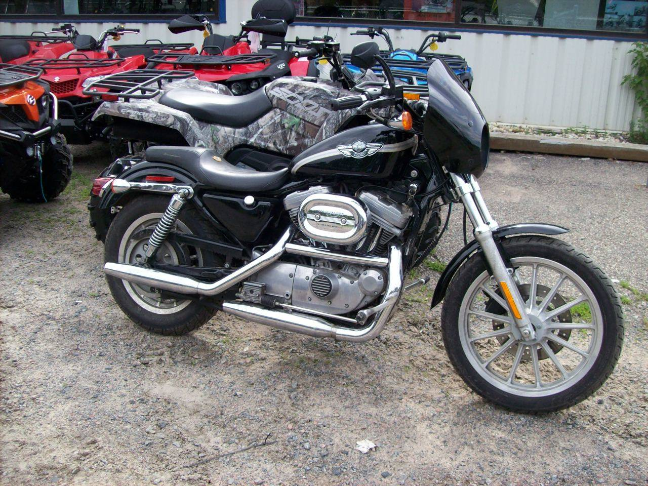 used 2003 harley davidson xlh sportster 883 motorcycles in wisconsin rapids wi stock number. Black Bedroom Furniture Sets. Home Design Ideas