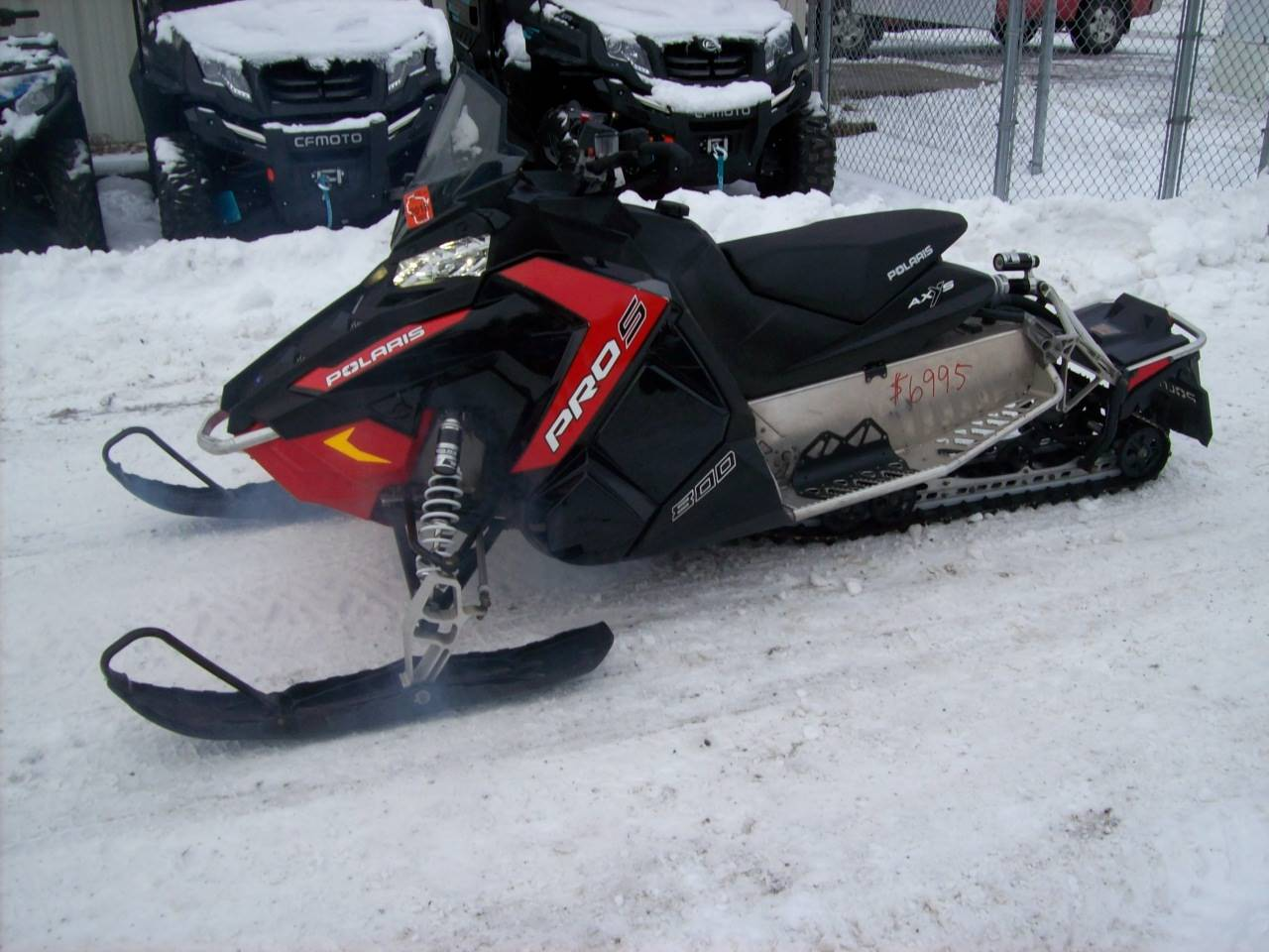2016 Polaris 800 SWITCHBACK PRO-S ES in Wisconsin Rapids, Wisconsin