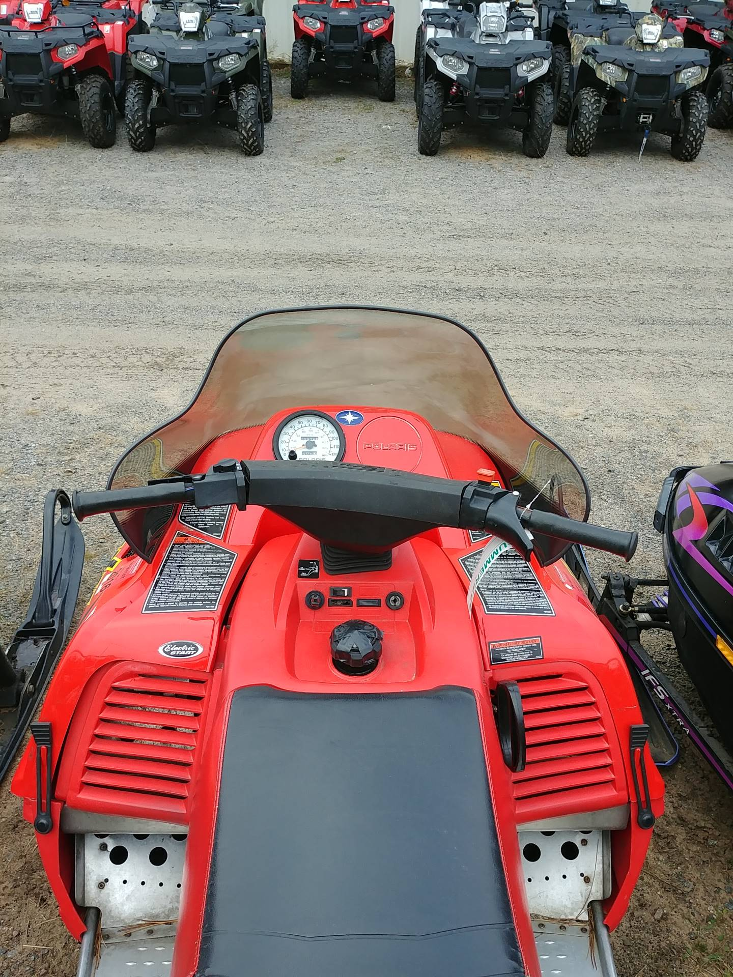 2002 Polaris Indy 340 Deluxe in Wisconsin Rapids, Wisconsin