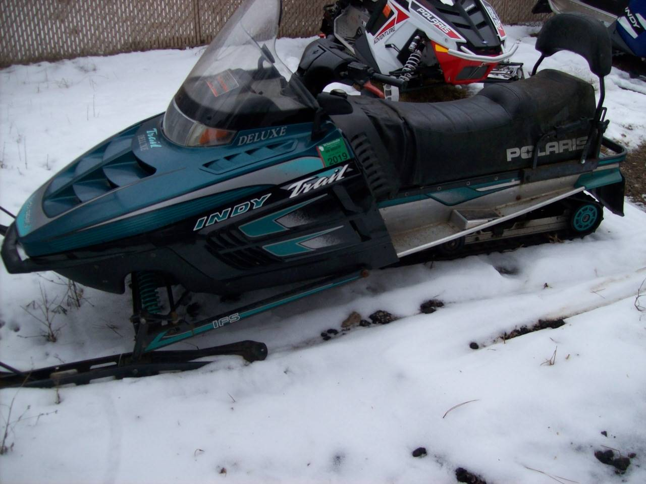 2000 Polaris Indy Trail Touring in Wisconsin Rapids, Wisconsin