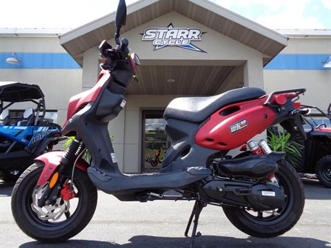 2016 Genuine Scooters Roughhouse 50 Sport in North Mankato, Minnesota