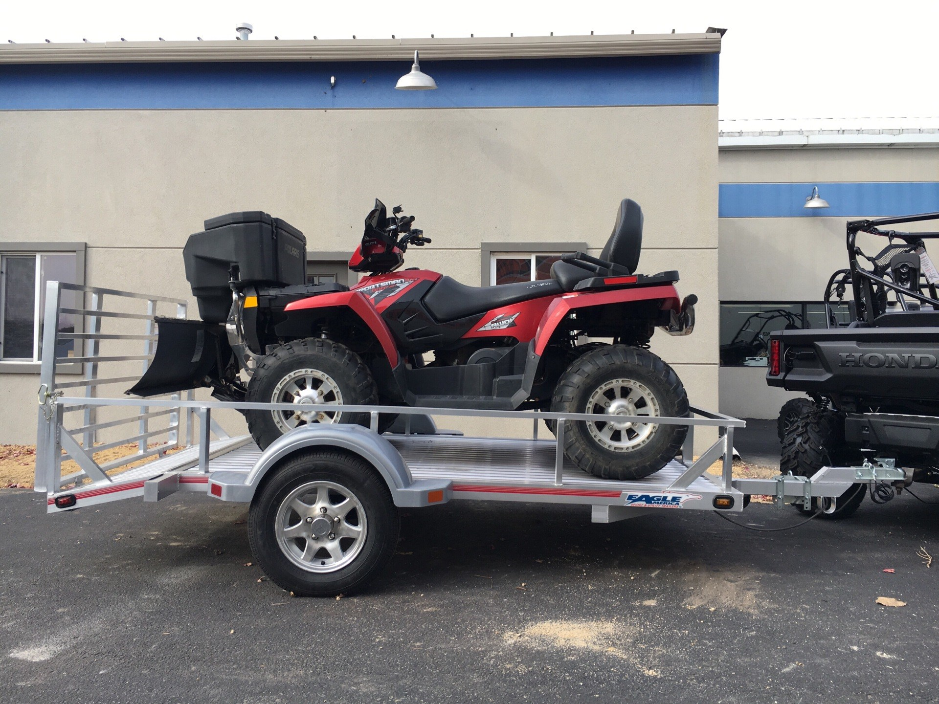 "2019 Eagle Trailers 60x120"" w/13"" radials, 13"" aluminum wheels & Swivel front jack in North Mankato, Minnesota - Photo 1"