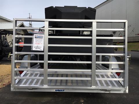 "2019 Eagle Trailers 60x120"" w/13"" radials, 13"" aluminum wheels & Swivel front jack in North Mankato, Minnesota - Photo 2"