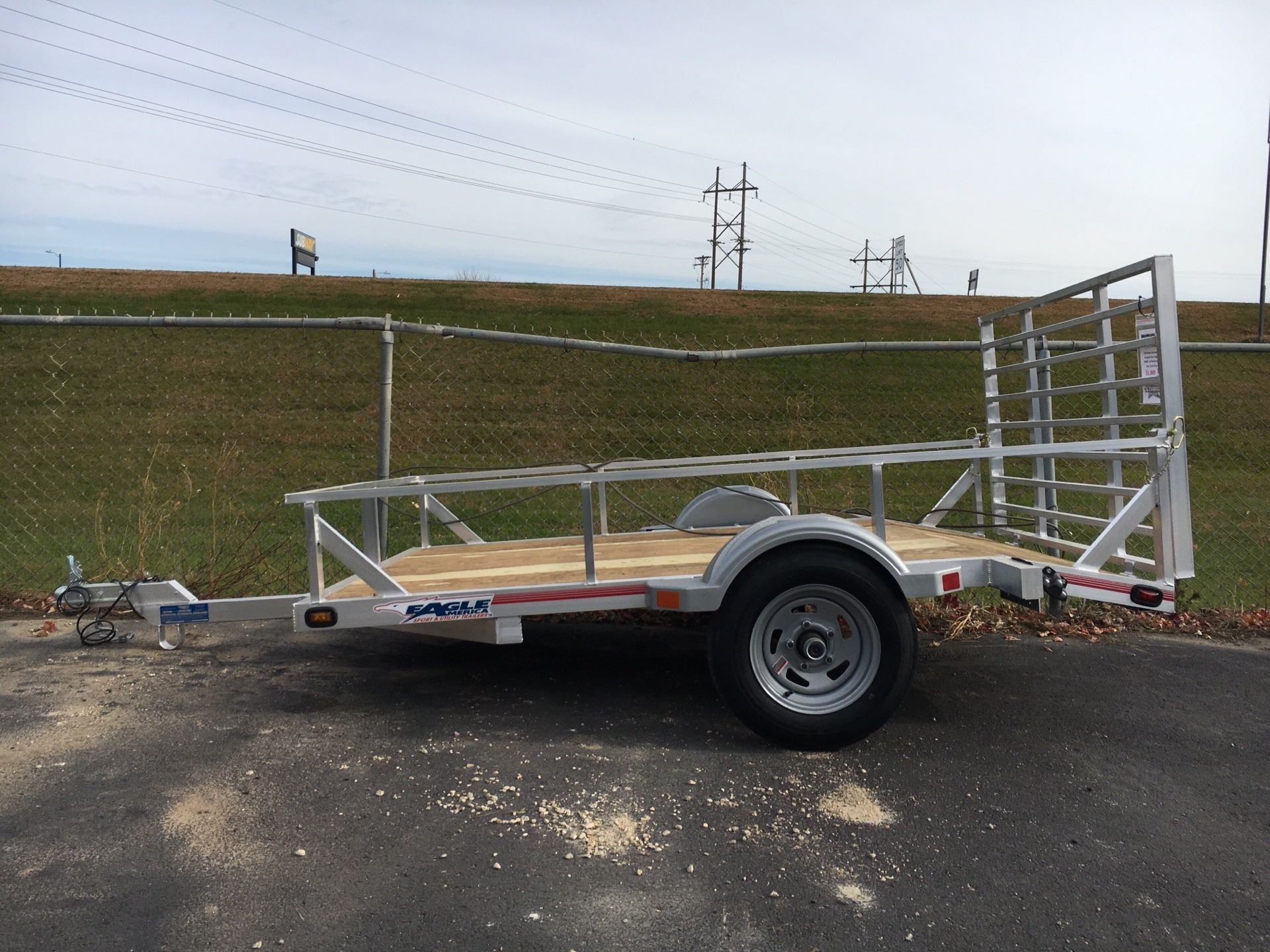 "2019 Eagle Trailers 60x96"" w/Swivel front jack in North Mankato, Minnesota - Photo 1"