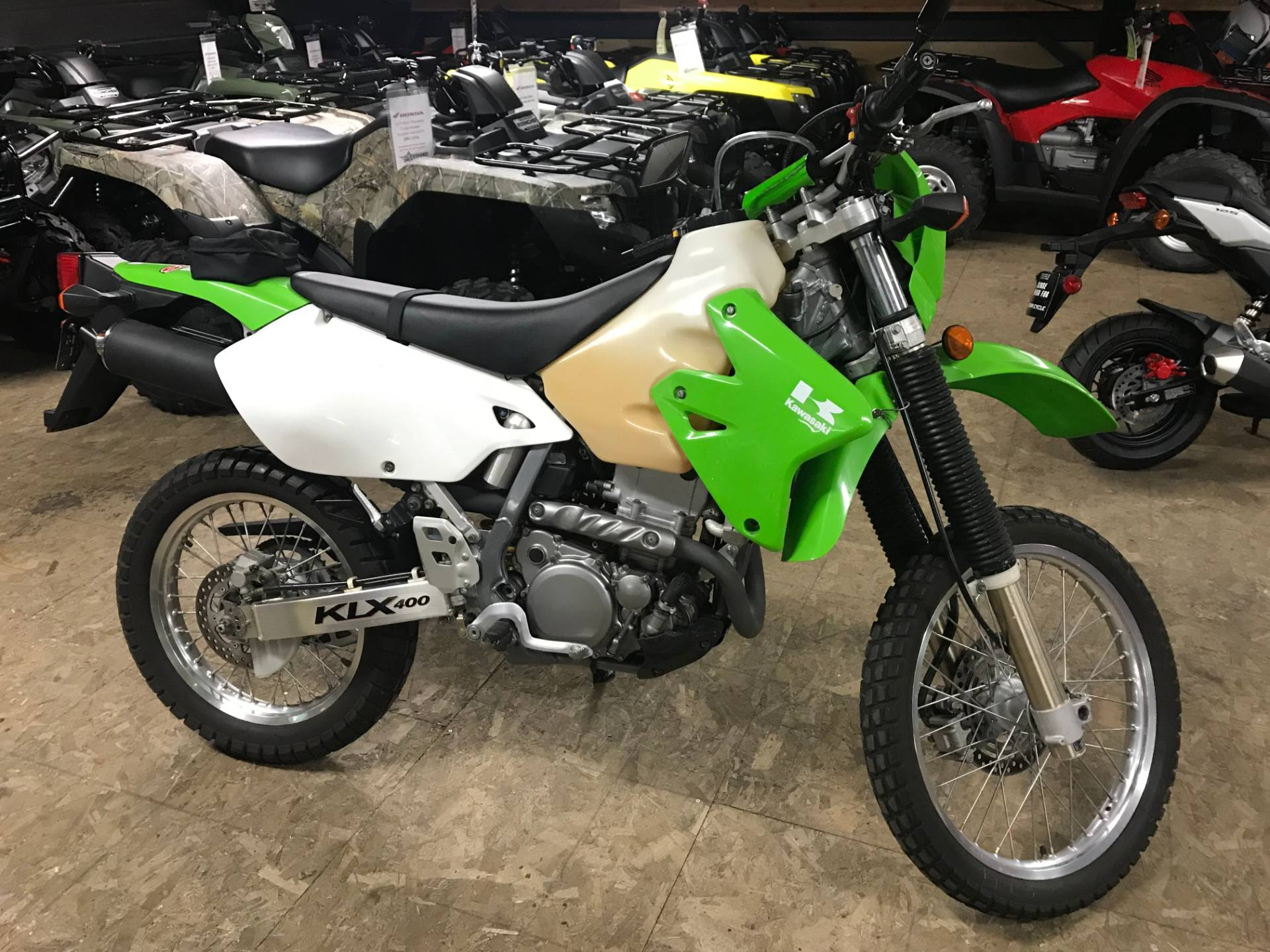 2003 Kawasaki KLX 400SR in North Mankato, Minnesota