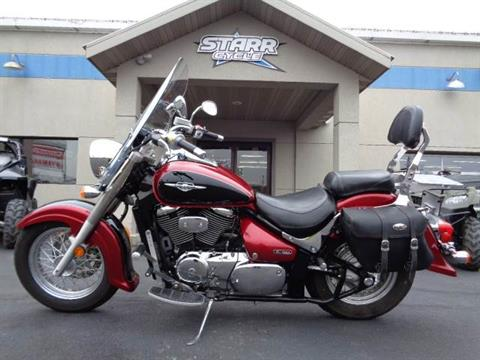 2007 Suzuki Boulevard C50 in North Mankato, Minnesota