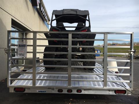 "2019 Eagle Trailers 80x120"" w/Stone guard on front rail & Aluminum fenders in North Mankato, Minnesota"