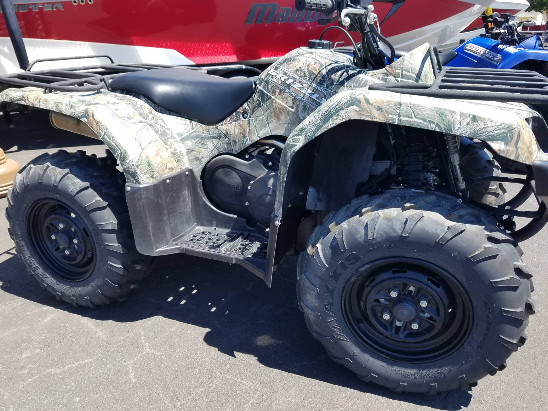 2011 Yamaha Grizzly 350 Auto. 4x4 IRS in Lakeport, California - Photo 1