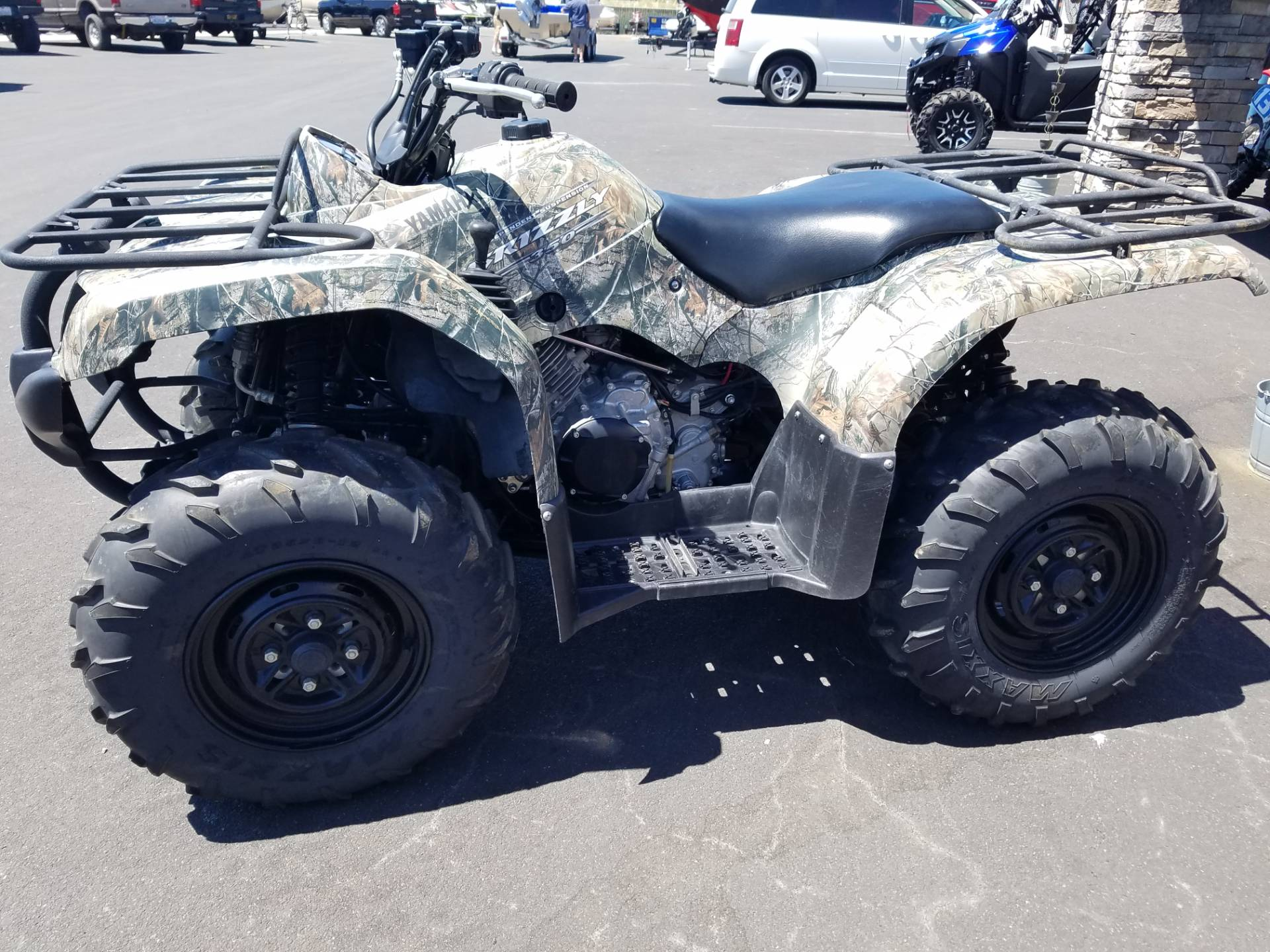 2011 Yamaha Grizzly 350 Auto. 4x4 IRS in Lakeport, California - Photo 2