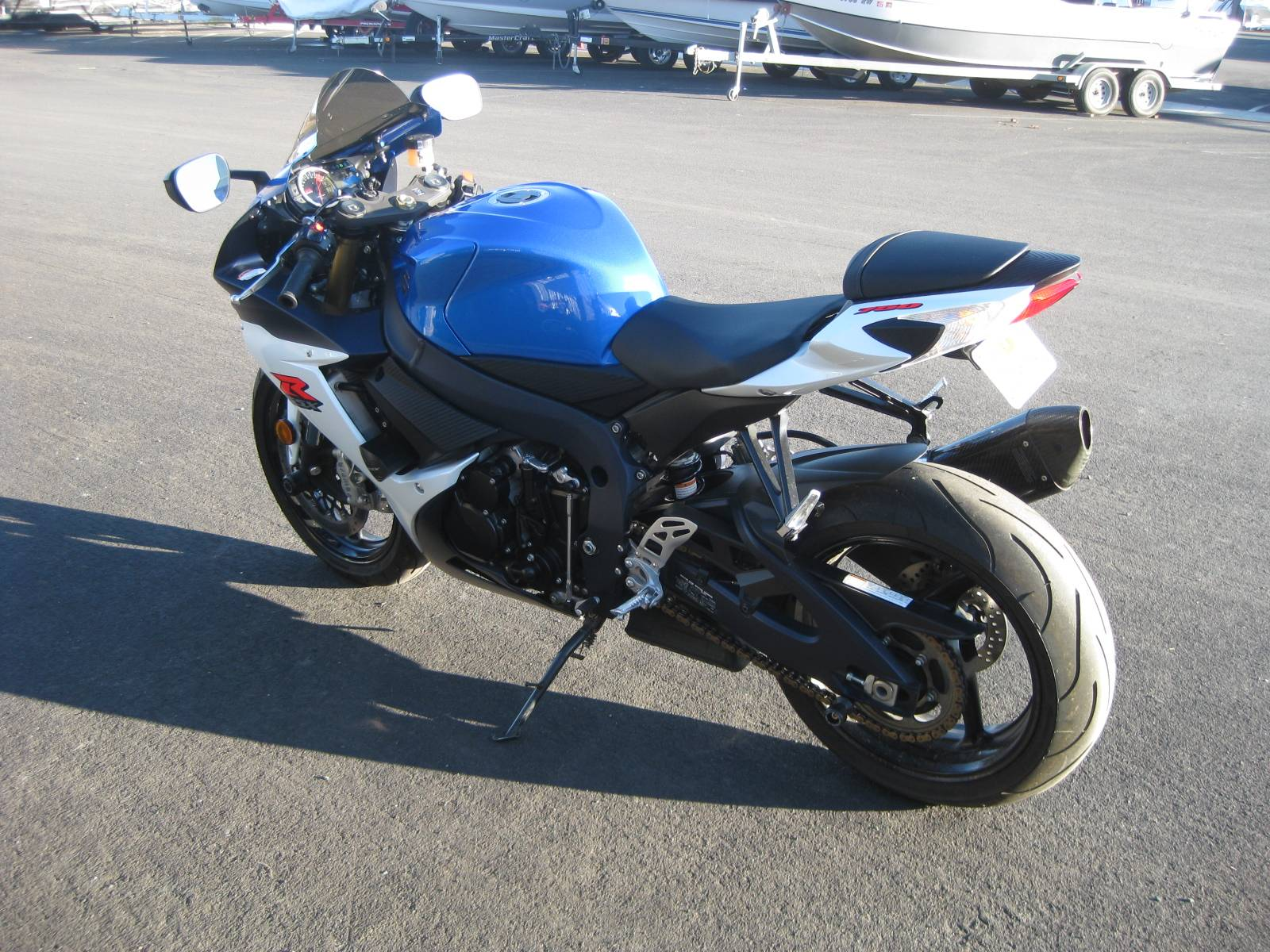 2012 Suzuki GSX-R750™ in Lakeport, California