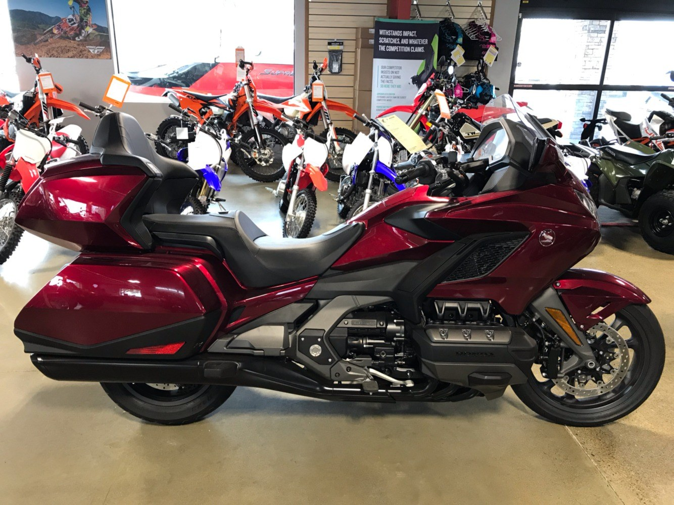 2018 Honda Gold Wing DCT in Lakeport, California - Photo 1