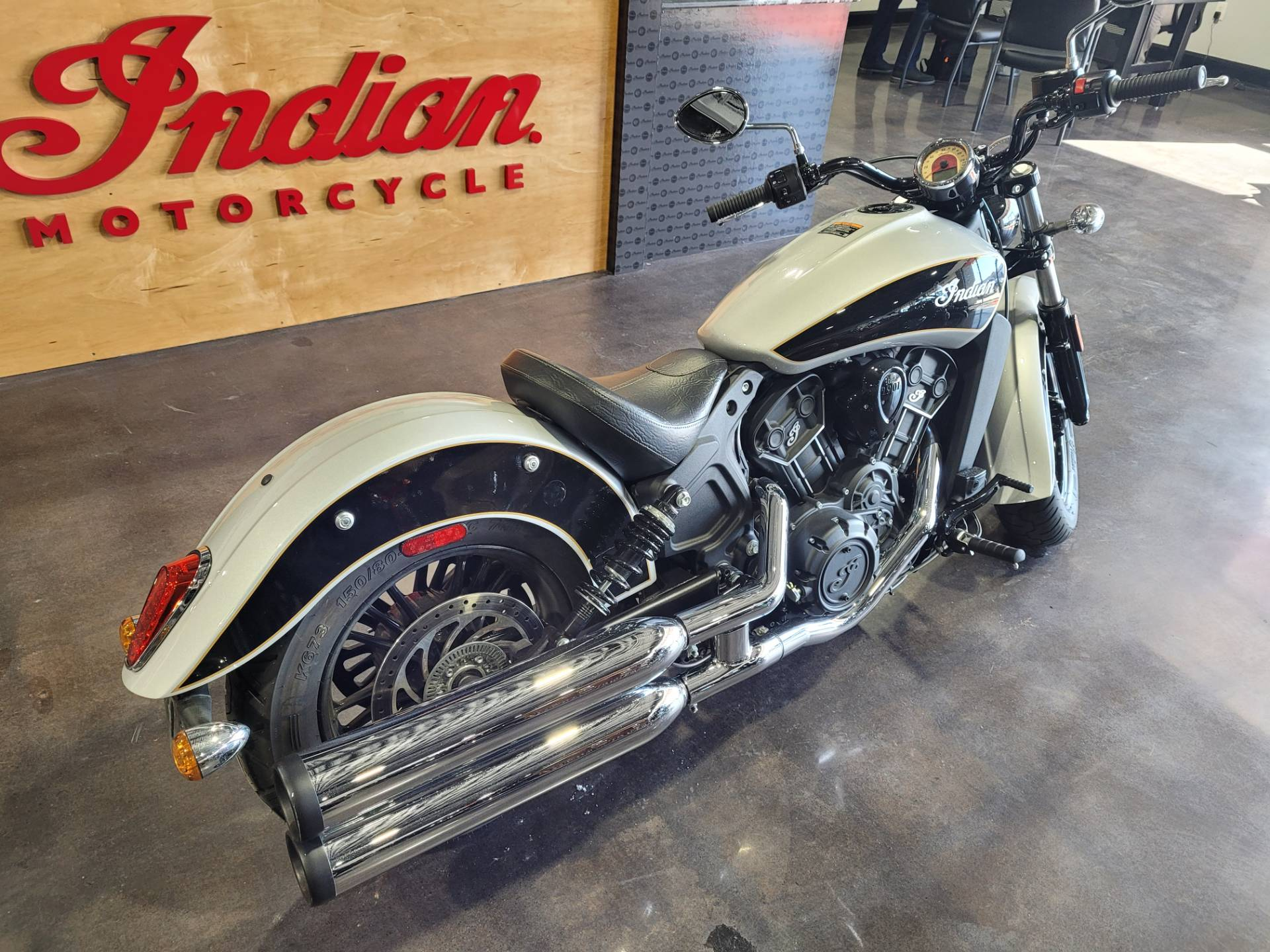 Used 2019 Indian Scout Sixty Abs Star Silver Thunder Black Motorcycles In Wilmington De Ind143442 [ 1440 x 1920 Pixel ]