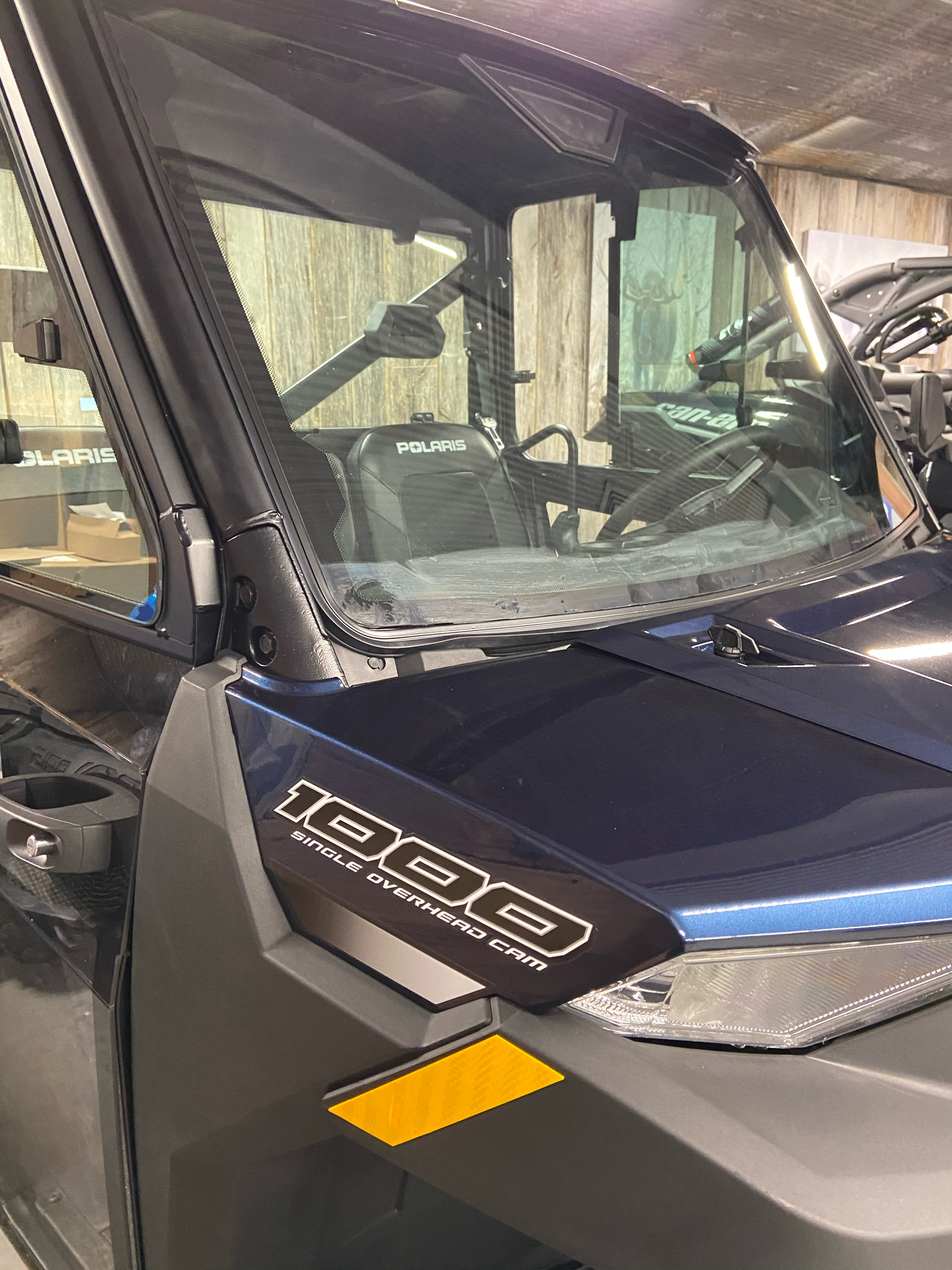 2021 Polaris Ranger 1000 Premium + Winter Prep Package in Cochranville, Pennsylvania - Photo 3