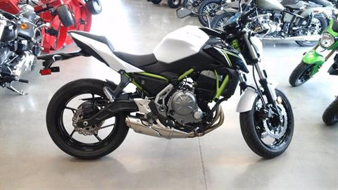 2017 Kawasaki Z650 ABS in Ozark, Missouri